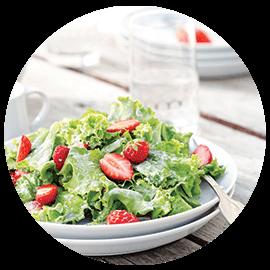 Pregătite mese și salate